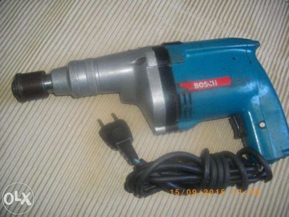 Бош-Електрически Винтоверт-Bosch 340W-340 Вата-1,6Ампера-Професионална