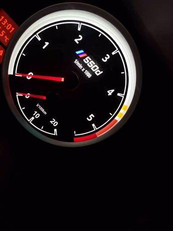 M километраж за BMW дизайнерски циферблати смяна на светодиоди и цвят