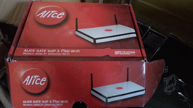 Router Modem Wi-Fi Alice < mase in Italy