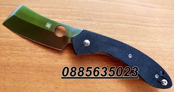 Сгъваем нож Spyderco Roc Cleaver/C177GP/ Knives Cleaver