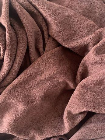 Set husa elastica canapea coltar L, plusata, maro (2 buc)