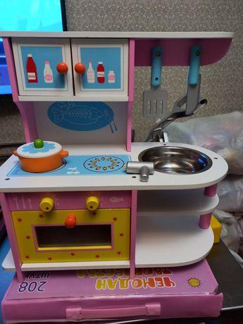 Кухня детская,  для девочек