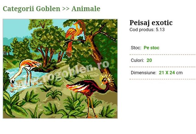"Goblen"" Peisaj exotic"""