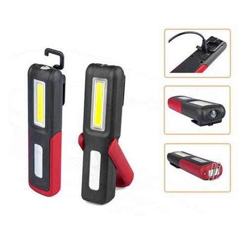 Авто LED Фенер/Лампа 3W с магнит/стойка/кука и Li-ion батерия