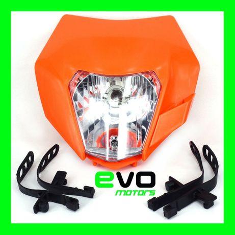 Masca Fata Far Moto KTM Supermoto Cross Enduro A214
