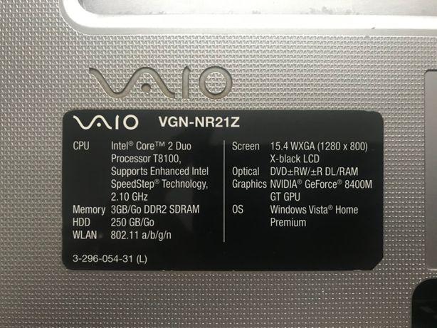 Dezmembrez Sony Vaio VGN-NR21Z