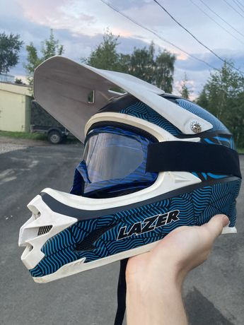 Шлем FullFace ФуллФейс мотошлем/велошлем
