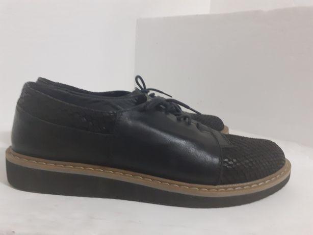 Pantofi piele oxford