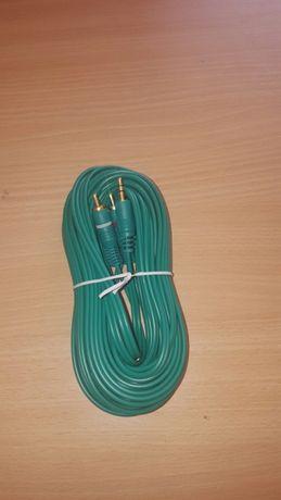 Cablu Jack 3,5 la 2 RCA și 2RCA la 2RCA, am mai multe tipuri