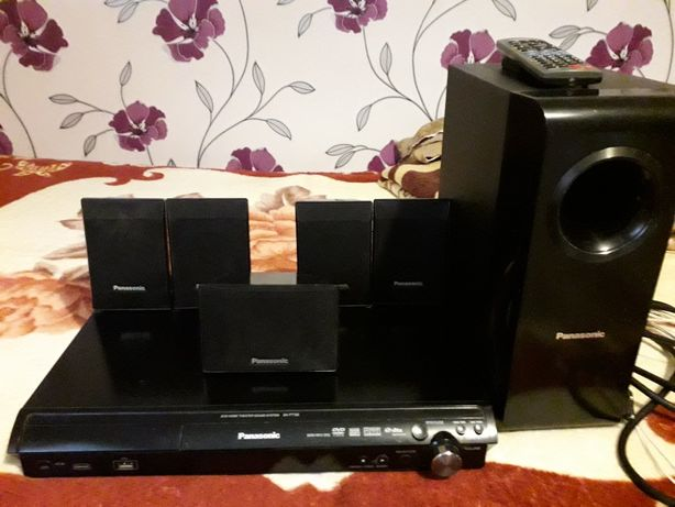Sistem audio-video home cinema 6+1