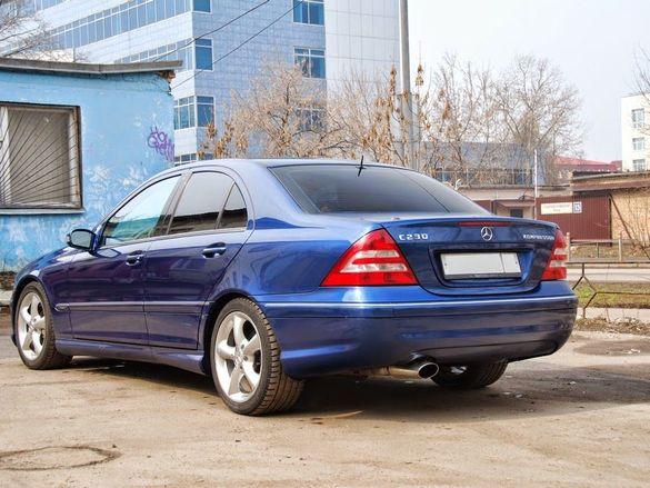Mercedes с230kompresor 2003 на части