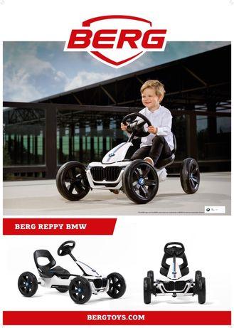 Kart BMW, cart cu pedale pentru copii Berg Reppy BMW. 2,5 ani la 6 ani