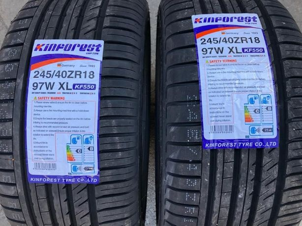 Anvelope Vara Noi Kinforest 245-40-18 BMW E60 F30 AUDI A4 A5 mercedes