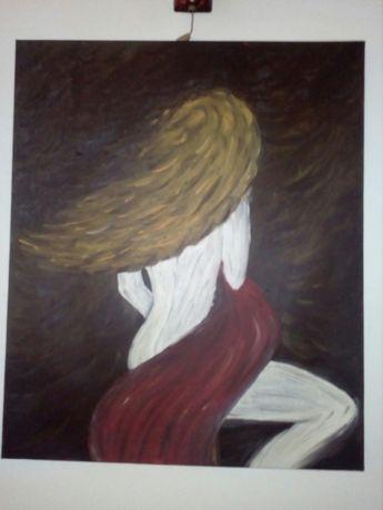 Vând tablou pictat în ulei