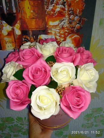 Мыльные розы букеты