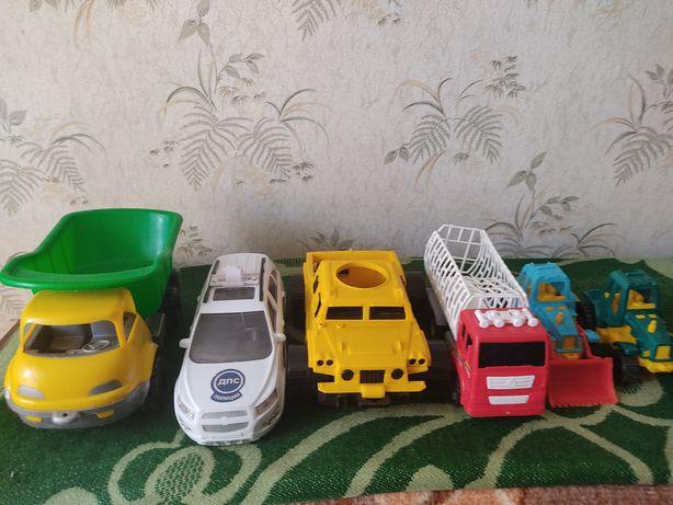 Машины и поезда , игрушки