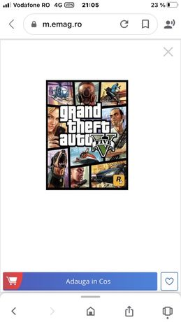 Joc Grand Theft Auto V pentru PC, RockStar CD-KEY Global