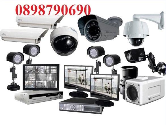 Монтаж настройка на DVR камери системи за охрана видеонаблюдение