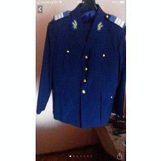 Ținută militară cadre de iarnă / costum militar albastru aviatie SMFA