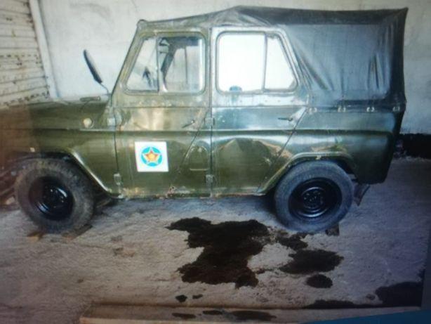 УАЗ 469. Год 1980. На ходу