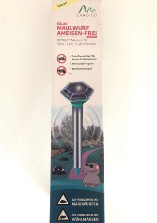 соларен уред за прогонване на къртици, ровещи животни, мравки, Gardigo