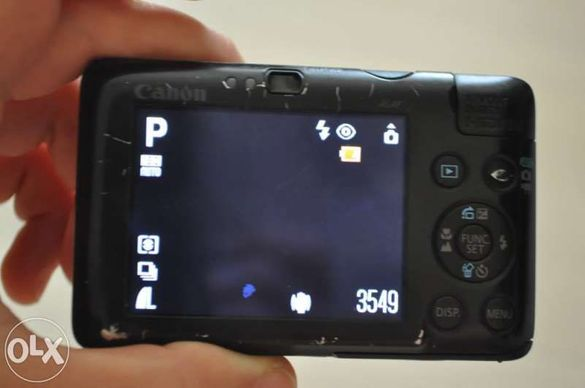 Фотоапарат Canon Digital IXUS 100IS