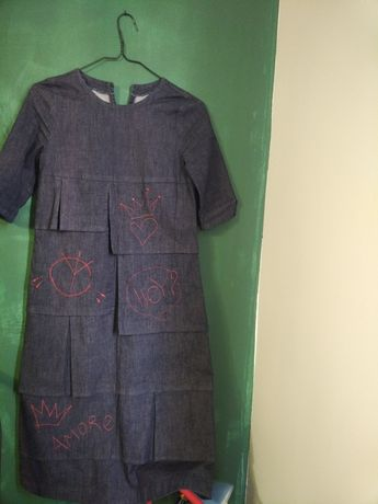 Дънкова рокля, S размер
