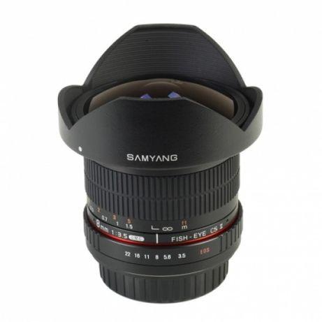 Obiectiv fisheye Samyang 8mm f 3.5 montura Canon