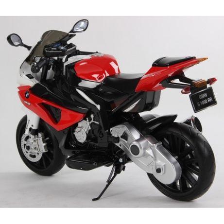 Motocicleta electrica pentru copii BMW rosie cu acumulatori,Originala!
