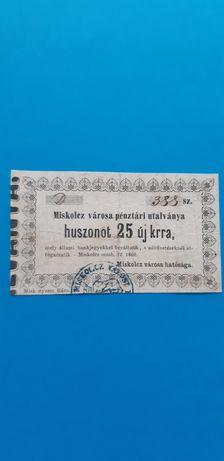 Bancnota rară ungaria