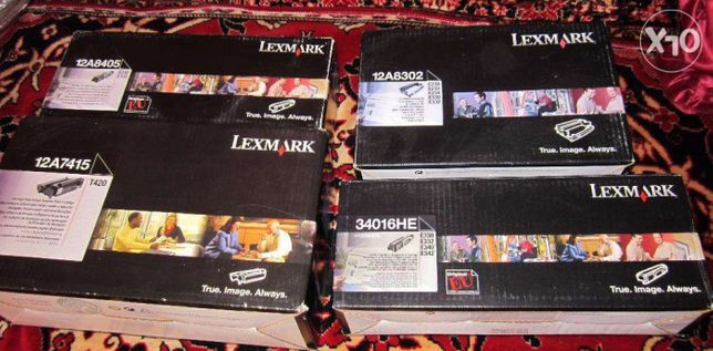 Vand consumabile imprimante Lexmark