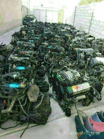 Двигатель коробка Ауди С4 В4 80 Фольксваген Пассат Гольф Вента