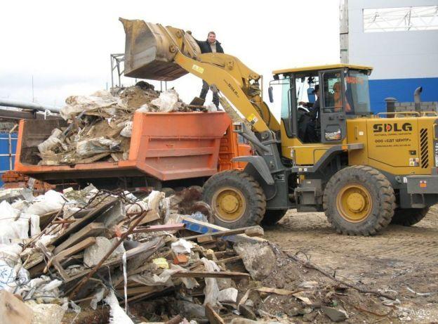 Вывезем мусор! расчистка территории!