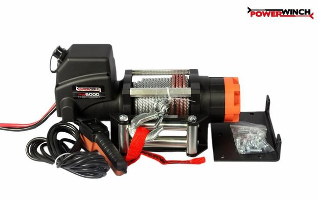Troliu Electric PW6000E pentru 4X4 cu 2 usi-2722 kg.pe horizontala NOU