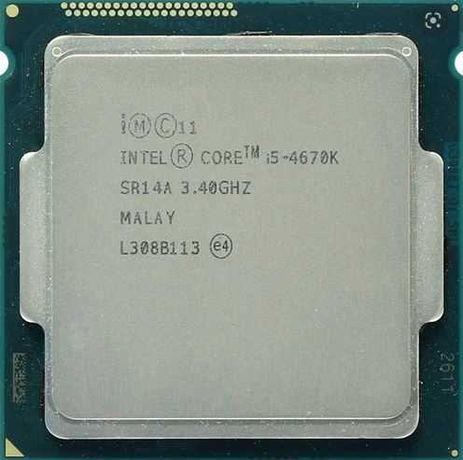 Intel Core i5-4670K Haswell (3400MHz, LGA1150, L3 6144Kb)
