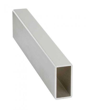 Teava aluminiu rectangulara 40x20x2mm teava aluminiu dreptunghiulara