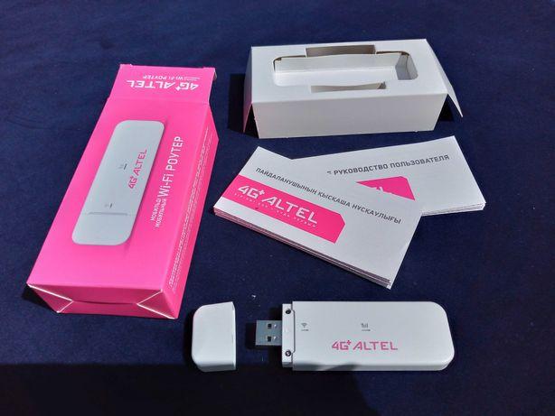 НОВЫЙ теле2 алтел 4G+ Wi-Fi роутер модем USB вайфай
