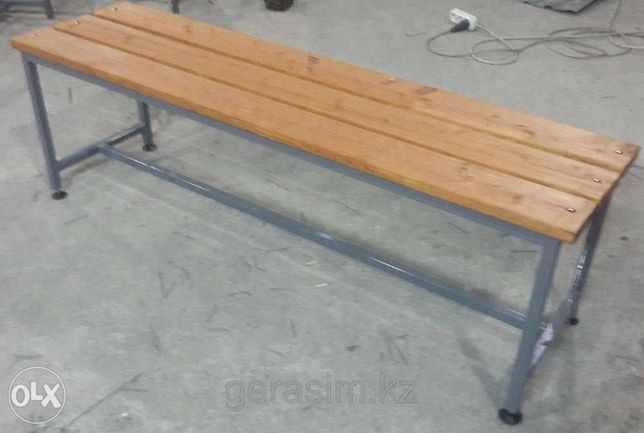Скамейки для раздевалок 1,5 м