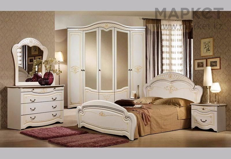 Спальный гарнитур Джамилия 4д!Мебель Склад Самые Низкие Цены Алматы - изображение 1