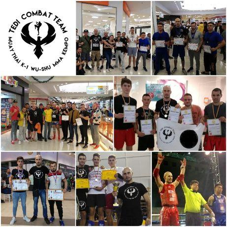 Antrenamente Kickbox Muay Thai Kempo Wu Shu K-1 MMA Bjj Berceni metrou