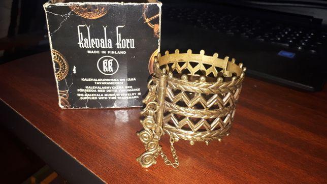 Bratara de colectie din bronz, Kalevala Koru Merjalainen