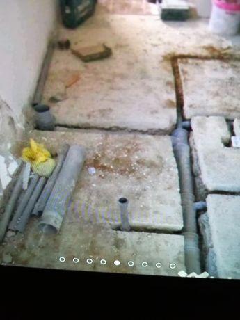 Renovarii interioare, instalator sanitar și canalizare