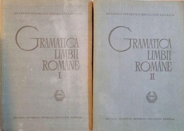 Gramatica Limbii Romane Volumul 1 Si Volumul 2