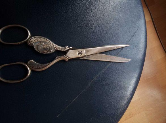 German Solingen Cristianity Religious ornate scissors- 19th century