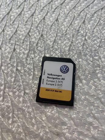 Card GPS Original VW Golf 7 Passat B8 Tiguan Discovery Media Gen2 Euro