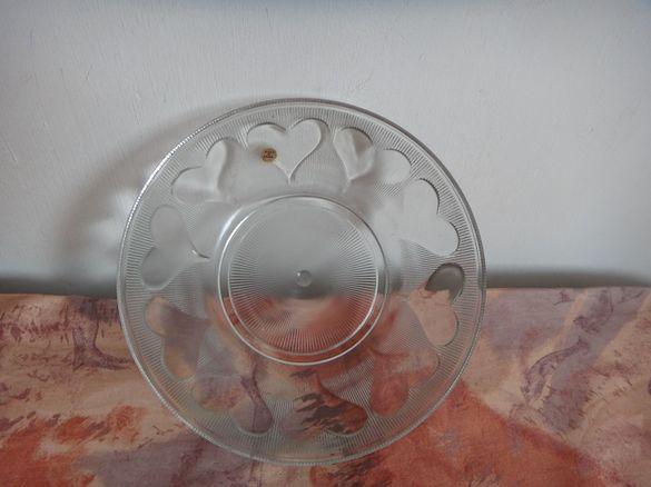 Полска стъклена купа / Фруктиера
