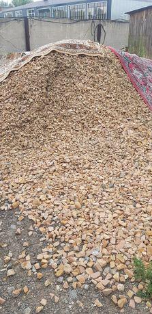 Щебень, щебёнка,песок,крошка асфальта с щебнем, контейнер для мусора
