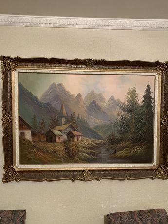 Tablou pictat pe panza 1992