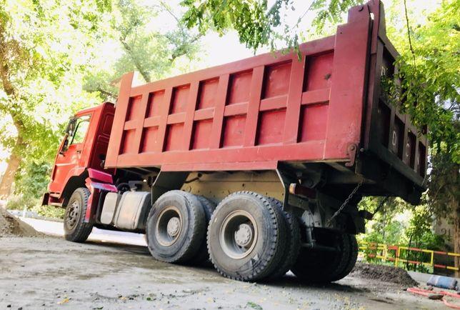 Доставка сыпучих материалов. Вывоз строительного мусора.