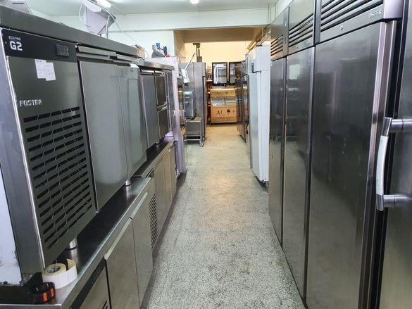 Инокс шкафове хладилни100бр от 1000до2200лв,2019г